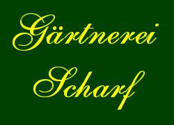 Logo der Gärtnerei Scharf